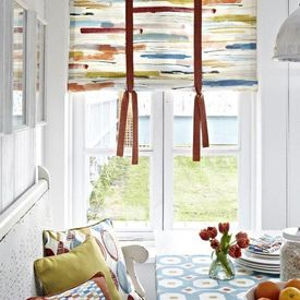 Interieur in zomerse tinten